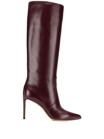 Francesco Russo Pointed Knee Length Boots - Farfetch