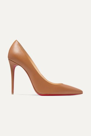 Christian Louboutin | Kate 100 leather pumps | NET-A-PORTER.COM