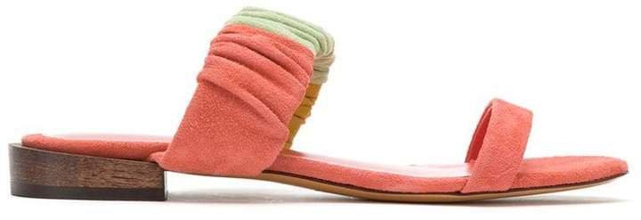 Sarah Chofakian leather flat sandals