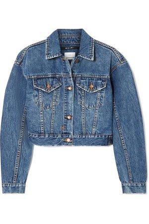 Ksubi | Jett cropped denim jacket | NET-A-PORTER.COM