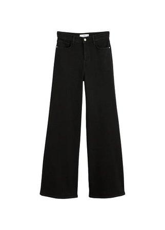 MANGO High waist flare jeans