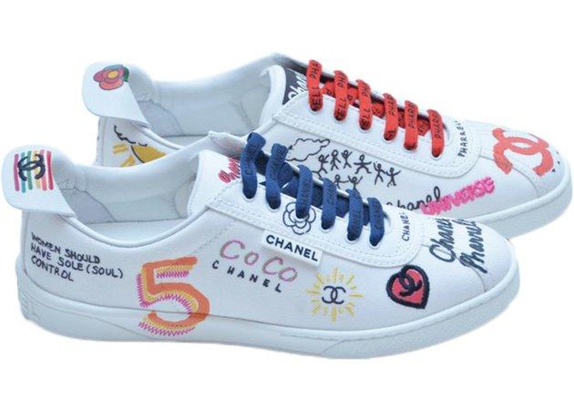 chanel white sneakers - Cerca con Google