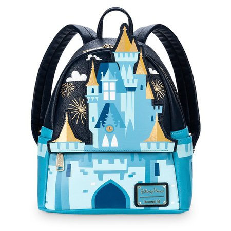 Fantasyland Castle Mini-Backpack by Loungefly - Walt Disney World | shopDisney