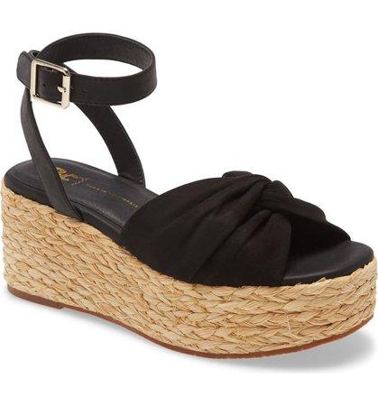 BC Footwear Winning Wedge Vegan Espadrille Sandal (Women) | Nordstrom