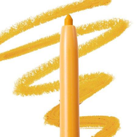 Marigold Yellow Raw Beauty Kristi x ColourPop Eyeliner