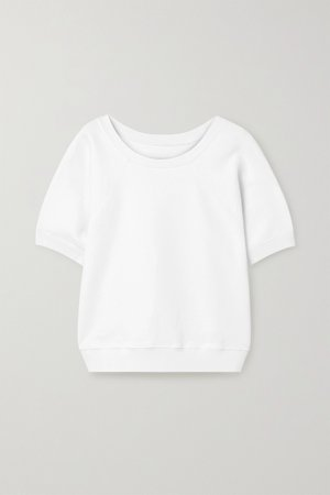 White Ciara cotton-jersey top | Nili Lotan | NET-A-PORTER