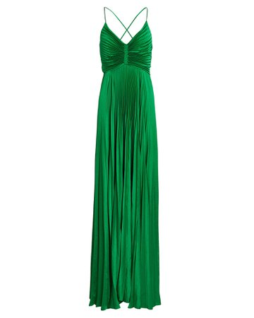 A.L.C. Aries Pleated Cut-Out Gown   INTERMIX®