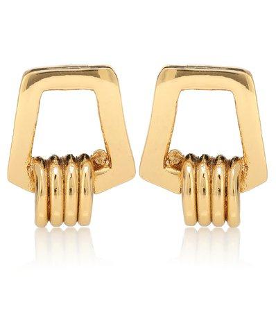 Karo 24Kt Gold-Plated Earrings   TOHUM Design - mytheresa.com