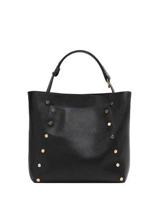 Violeta BY MANGO Stud shopper bag
