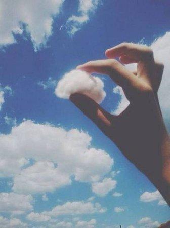 cloud/sky aesthetic photography blue