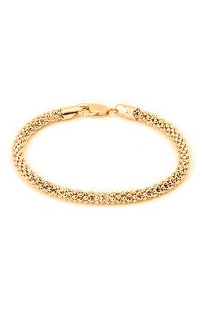 18K Gold Plated Sterling Silver Coreana Bracelet | Nordstromrack