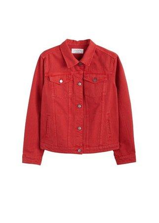 Violeta BY MANGO Pocketed denim jacket