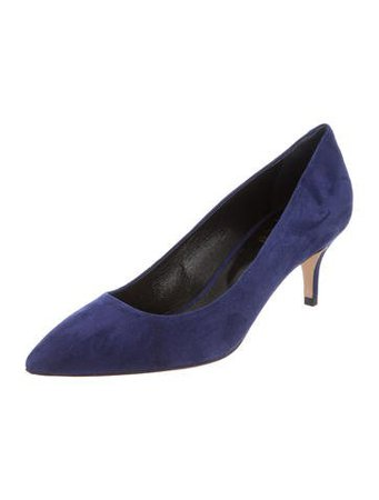 Abel Muñoz Betty Suede Pumps - Shoes - W7A20447 | The RealReal