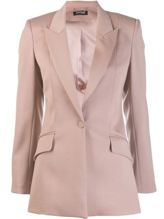 Styland single-button Blazer - Farfetch