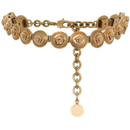 Versace Medusa links necklace