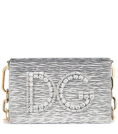 DG Girls metallic shoulder bag