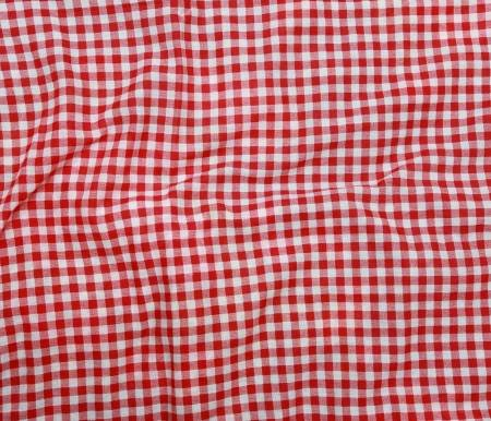 Crumple Texture Of A Red And White Checkered Picnic Blanket .. Stock Photo, Picture And Royalty Free Image. Image 28257333.