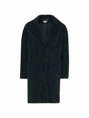 Whistles Jara Drawn Cocoon Coat, Dark Green - www.salonnaturalsonline.com Ladies 12100169 Dark Green Whistles Jackets - Womens Hobbs London Coats Outlet Online
