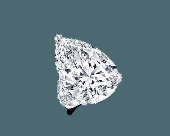 Pear Shape Diamond Ring | Graff