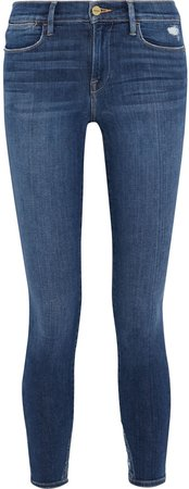 Le High Skinny Cropped High-rise Skinny Jeans