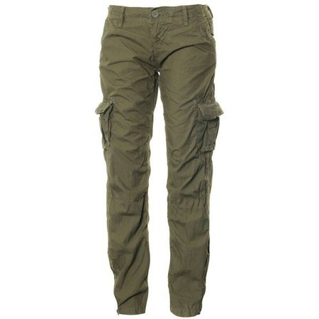 Baggy Army Green Cargo Pants