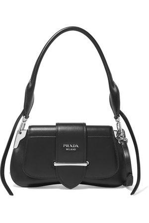 Prada | Sidonie leather shoulder bag | NET-A-PORTER.COM