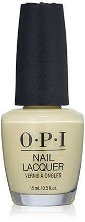 OPI Nail Lacquer Grease Collection, Buttercup