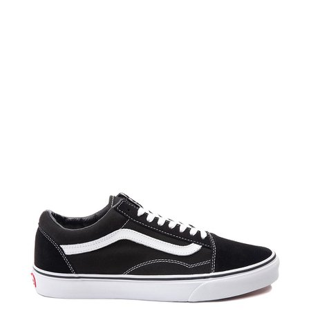 Vans Old Skool Skate Shoe - Black | Journeys