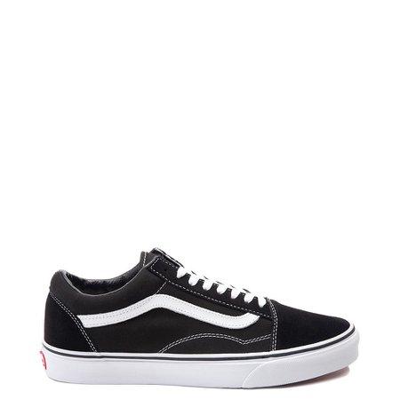 Vans Old Skool Skate Shoe - Black | Journeys