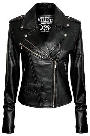 Leather Jacket [VEGAN] - Shop Now - us.KILLSTAR.com