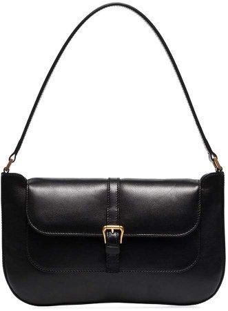 Black Miranda leather shoulder bag