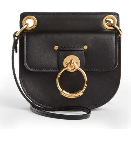 Chloé Mini Tess Leather Crossbody Bag | Nordstrom