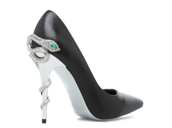 Slytherin Snake High Heels