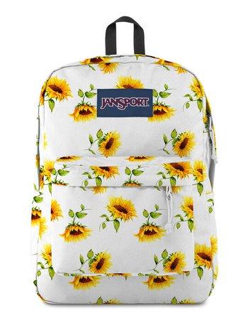 JANSPORT SuperBreak Sunflowers Backpack - WHTCO - JS0S4QYT-6N5 | Tillys
