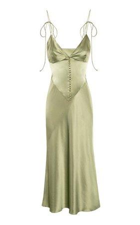 Hydra Silk Slip Dress By Anna October | Moda Operandi
