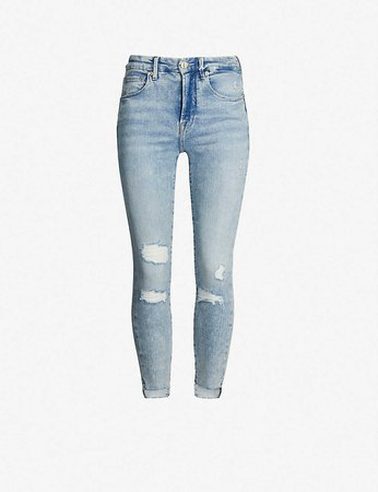 GOOD AMERICAN - Good Legs slim-fit skinny jeans   Selfridges.com