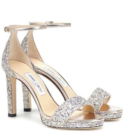 Misty 100 glitter sandals