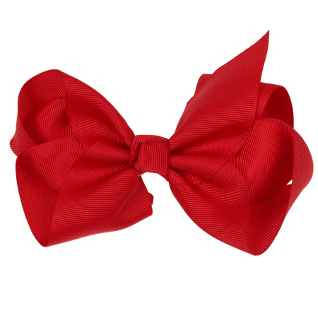 14cm Ribbon Bow - Red - Ruby Willow