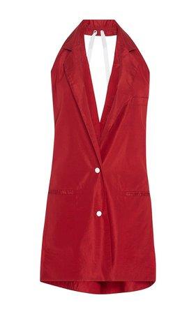 Rosie Assoulin Laces Out Vest