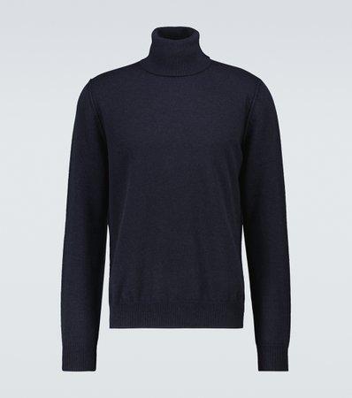 Maison Margiela, Knitted cashmere turtleneck sweater