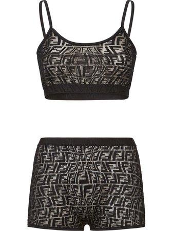Fendi FF-print Underwear Set - Farfetch