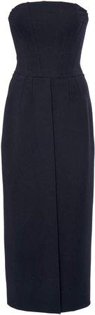 Dolce & Gabbana Crepe Corset Midi Dress