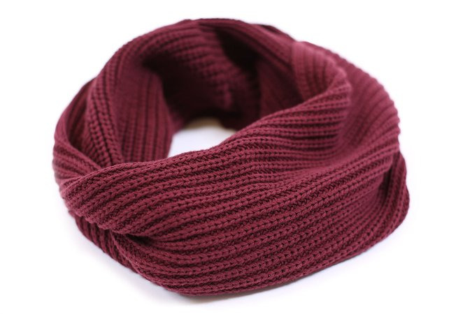 Love Your Melon Burgundy Infinity Scarf