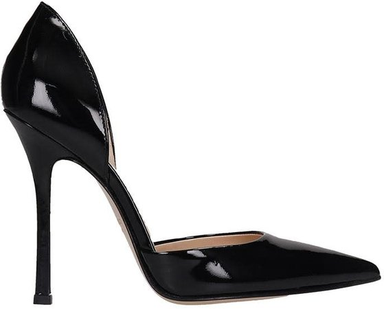 Pumps In Black Patent Leather