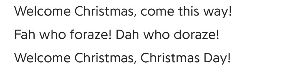 WhoVille Christmas Song