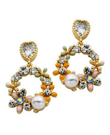 Macy's Butterflies & Flowers Earring in Fine Silver Plate & Reviews - Earrings - Jewelry & Watches - Macy's