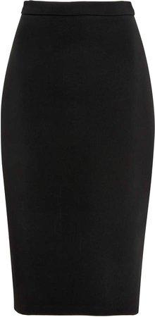 Martin Grant Twill Pencil Skirt