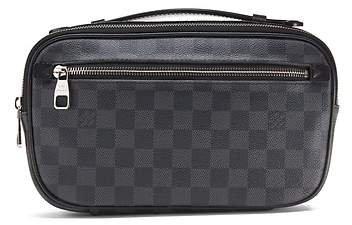 LUXE FINDS | Louis Vuitton Damier Graphite Ambler Belt Bag