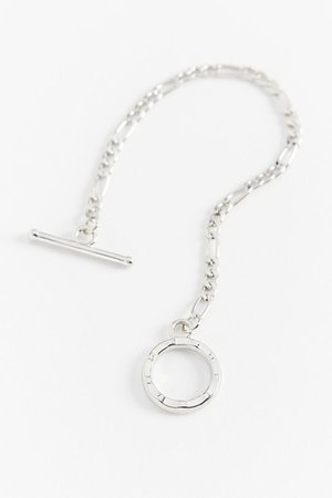 Figaro Chain Toggle Bracelet | Urban Outfitters