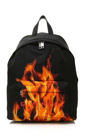 Flame Logo Backpack by Givenchy | Moda Operandi